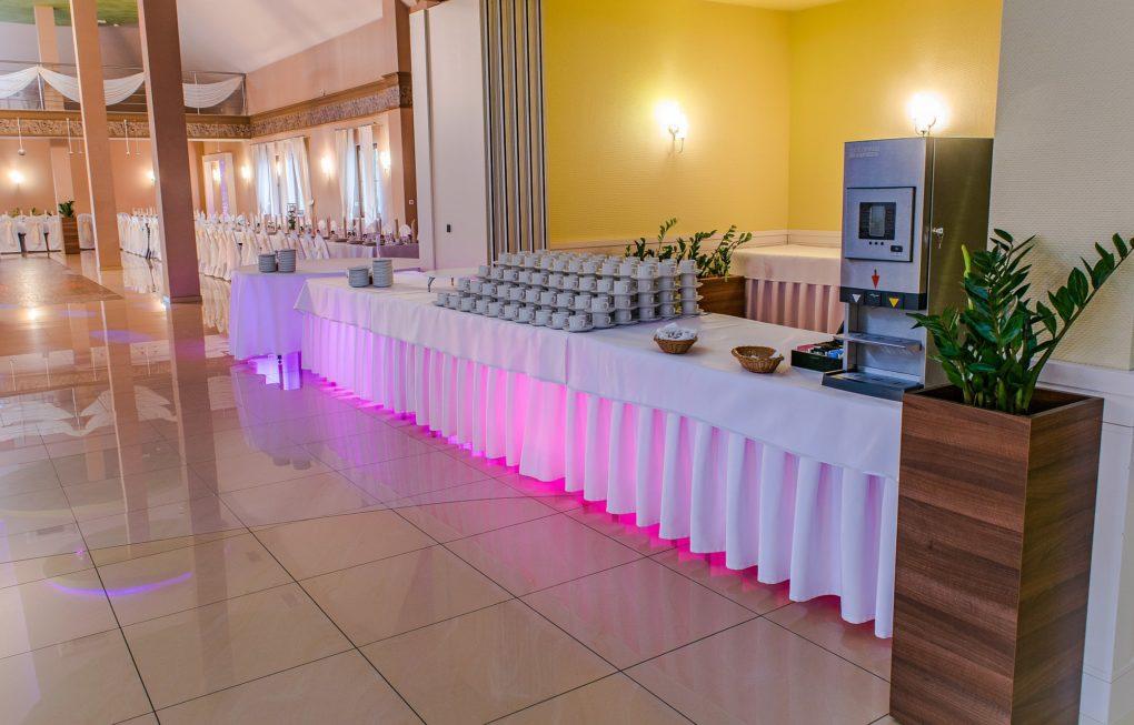 sala balowa stół szwedzki